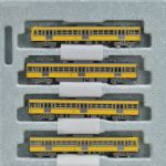 Kato 10-1102  Seibu 101 Yellow Early with Coolers 4 Car Add on Set
